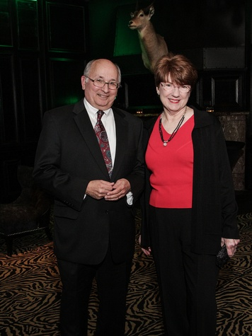 Mike and Mary Yenik at the Knowledge Arts Foundation dinner November 2013