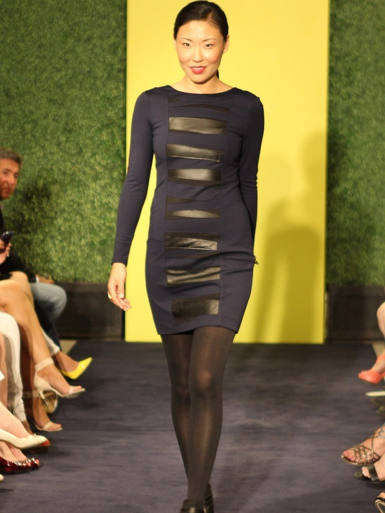 Neiman Marcus, trend report, Fall 2012, August 2012, navy with black leather