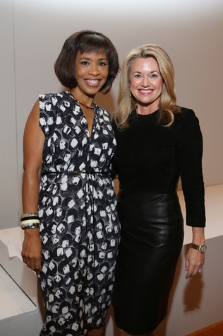 News, Shelby, Angels of Hope luncheon, Dec. 2014, Gina Gaston, Millette Sherman