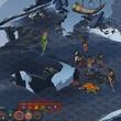 combat screen gameplay of The Banner Saga by Stoic Studio