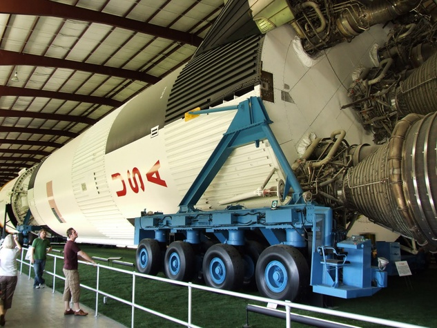 Saturn V, rocket, Houston Space Center