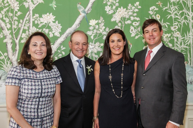 31 Penny and Paul Loyd, from left, and Shawna and Kelly Loyd at the Men of Distinction luncheon May 2014