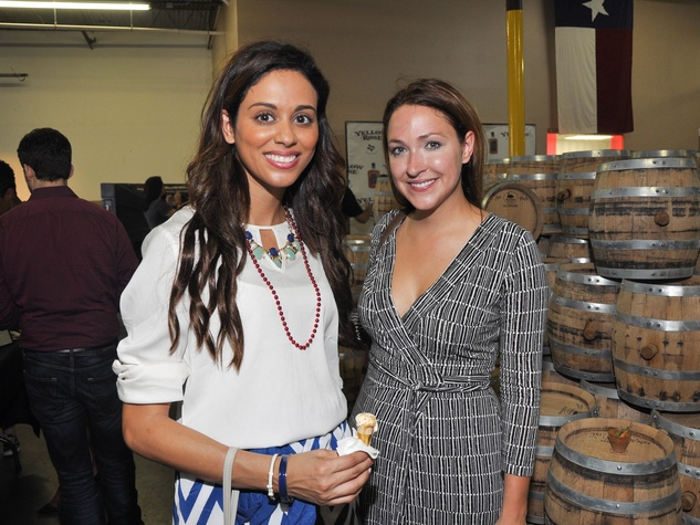 Houston, Spiked by the Scoop, July 2015, Mona Fareed and Jasmine Taillon