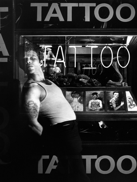 News_Greg Gorman_Tom Waits_Hollywood_1980