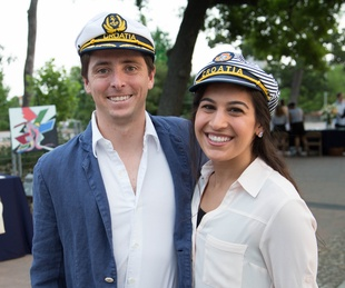 Urban Green Overboard party, James Pastello, Roxana Fatemizadeh