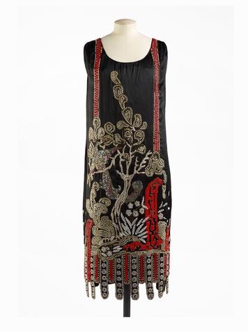 Paris Haute Couture exhibit at the Hotel de Ville June 2013 Jean Patou 1925 - Full Length