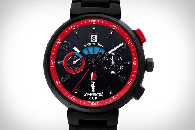 Louis Vuitton Tambour America's Cup Automatic Regatta watch