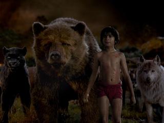 Scene from The Jungle Book