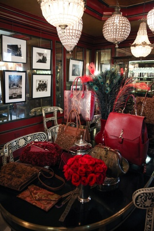 Dee Ocleppo and Tommy Hilfiger dining room at Plaza