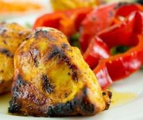 Grilled chicken tapas at Cafe Izmir in Dallas