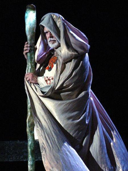 "John S. Davies as Prospero in Shakespeare Dallas' ""The Tempest"""