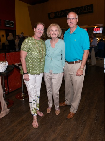 Margaret Jackson, Nancy O'Neil, Stewart Rogers, movie premiere