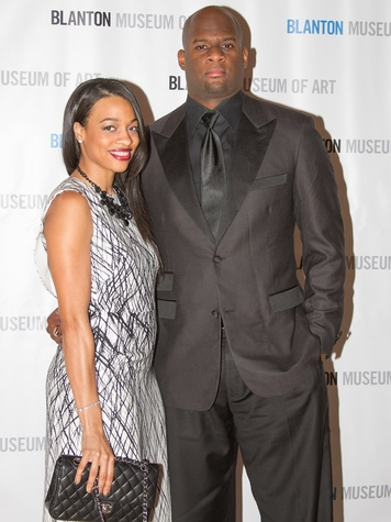 Blanton Art Museum Off The Wall Gala 2015 Candice Young Vince Young