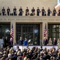 Bush Presidential Center Opening, Ron Kirk