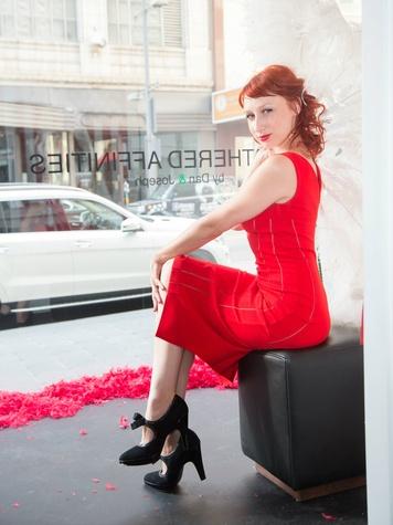 Model Melissa Meaow at Traffic LA