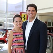 Jana and Josh Hopkins at the Joints in Action at Ferrari of Houston June 2014