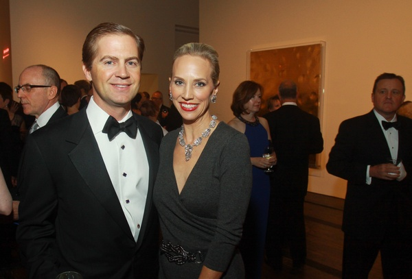 The Menil 25th anniversary gala, December 2012, George Masterson, Catherine Masterson