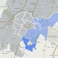 Google Fiber map Southeast Austin sign-up expansion July 2015