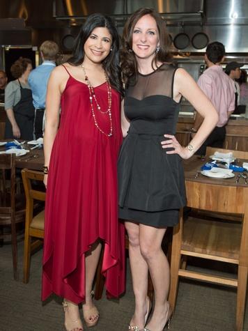 2694, Ballet Barre dinner, April 2013, Christy Bradshaw and Lindsey Brown