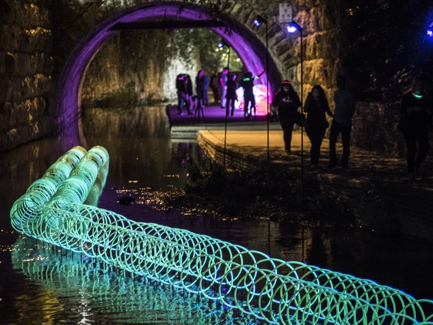 Waller Creek Show 2016 Phantom Diversion by West Shop and Cook Shop