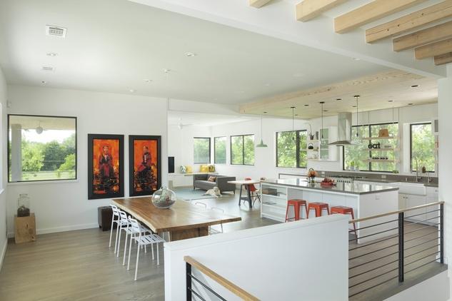 AIA Houston home tour October 2013 4135 Tartan Lane by Tran Architecture interior