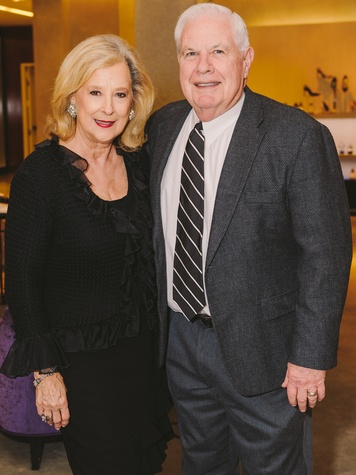 Mary Ann and David McKeithan at the Passion for Fashion kickoff December 2013