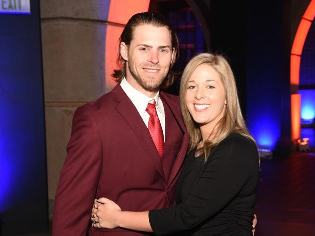 Houston, Diamond Dreams Astros Gala, January 2018, Josh Reddick and his date