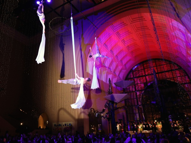 Houston, Society for the Performing Arts, April 2017, Blue Lapis aerial dance company
