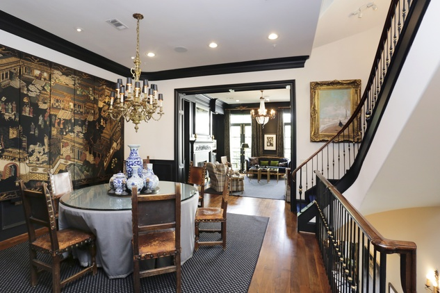On the Market 1729 Sunset Blvd. October 2014 dining room to living room