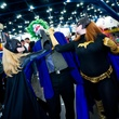 Comicpalooza beating up Joker