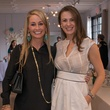 7303 Amy Dunn, left, and  Elena Pedenat the David Peck spring summer 2015 fashion show March 2015