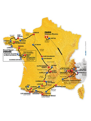 News_Tour de France_map