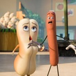 Kristen Wiig and Seth Rogen in Sausage Party