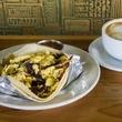 Cenote breakfast taco