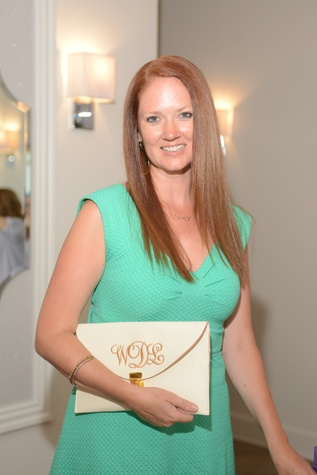 13 Wendi Duty at the Brush & Blush Blow Dry Bar party June 2014