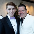 31 Mitchell Greco, left, and Kenn McLaughlin at the STAGES Xanadu Gala April 2014