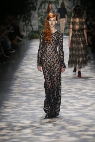 Jenny Packham fall 2017 collection look 13