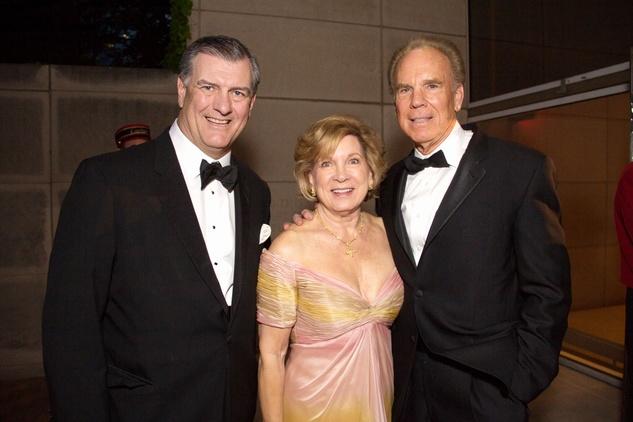 Mike Rawlings, Marianne Staubach, Roger Staubach