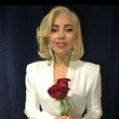 Lady Gaga backstage as concert with presidents in College Station