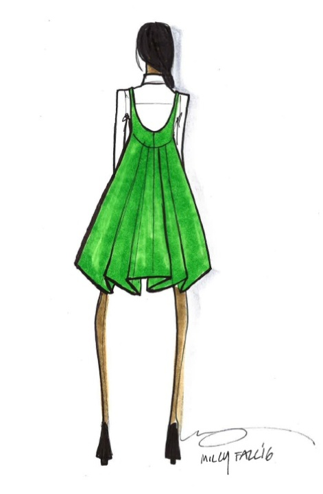Milly fashion sketch fall 2016