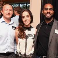 Anthony Jeanneret, Marianne Layton, Quinton Steve at  YHHCC Fall Mixer
