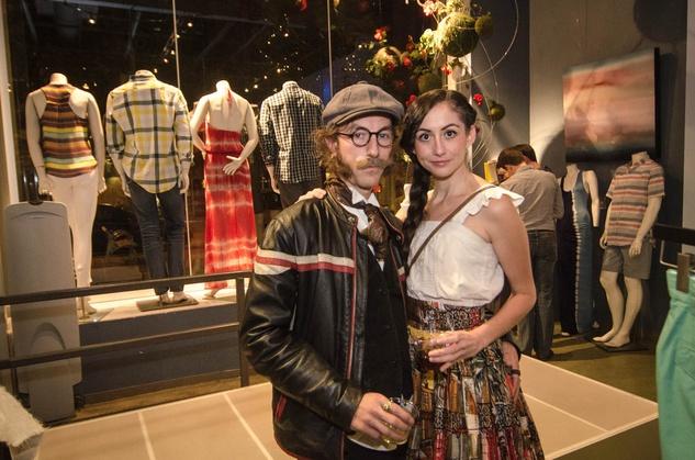 Austin Fashion Week kick off party at estilo 2013 Jeremiah Newton and Kristian Caballero