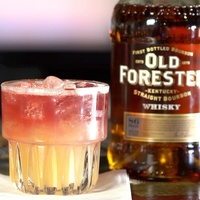 New York Sour from Dallas bartender Julie Campbell