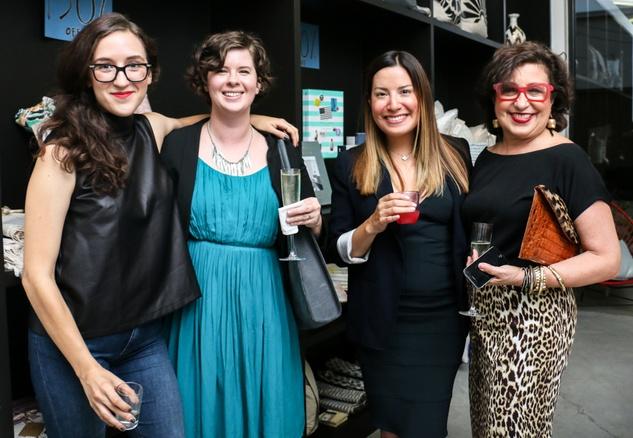 Saint Cloud dinner party, Cecilia Marquez, Sarah Gabbart, Jessica Rodriguez, Roz Pactor