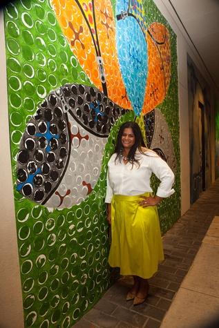News, Shelby, Muir Gallery mural party, July 2015, Anita Varadaraju