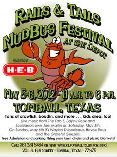 Rails and Tails Mudbug Festival