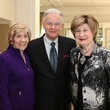 19 Donna Teichman, from left, with Harry and Cora Sue Mach at the CancerForward luncheon November 2013