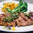Charivari flat iron steak