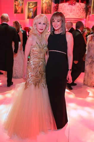 News, Shelby, HGO Best Ball gowns, April 2015, Diane Lokey Farb, Janet Gurwitch