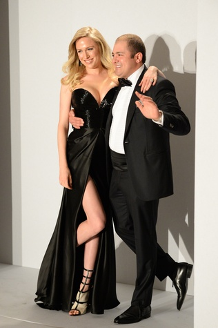 Lori and Phillip Sarofim at the Tootsies Love's in Fashion event February 2015